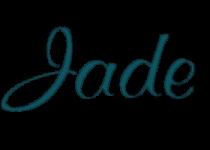 Jade Logo Small Top-set